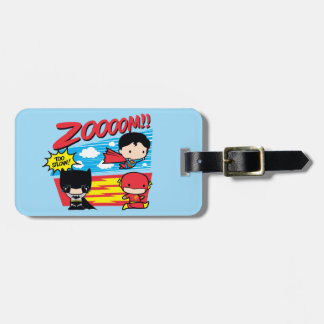 Chibi Batman Too Slow! Luggage Tag