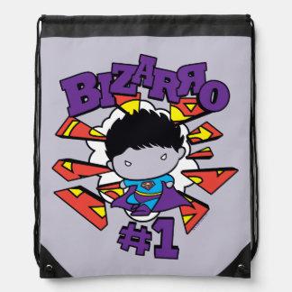Chibi Bizarro #1 Drawstring Bag