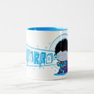 Chibi Bizarro Arctic Vision Two-Tone Coffee Mug
