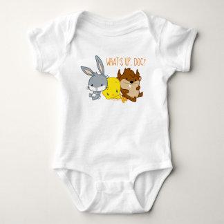 Chibi BUGS BUNNY™, TWEETY™, & TAZ™ Baby Bodysuit