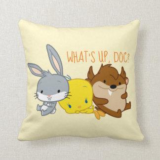 Chibi BUGS BUNNY™, TWEETY™, & TAZ™ Cushion