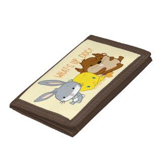 Chibi BUGS BUNNY™, TWEETY™, & TAZ™ Tri-fold Wallet