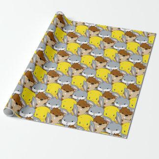 Chibi BUGS BUNNY™, TWEETY™, & TAZ™ Wrapping Paper