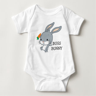 Chibi BUGS BUNNY™ With Carrot Baby Bodysuit