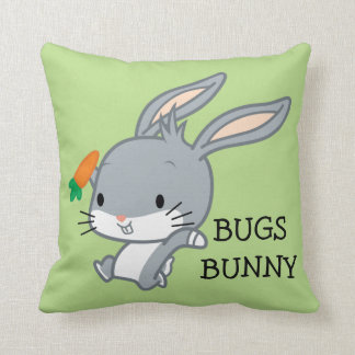 Chibi BUGS BUNNY™ With Carrot Cushion