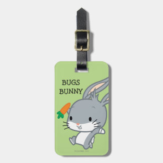 Chibi BUGS BUNNY™ With Carrot Luggage Tag