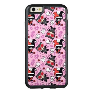Chibi Catwoman, Harley Quinn, & Kittens Pattern OtterBox iPhone 6/6s Plus Case
