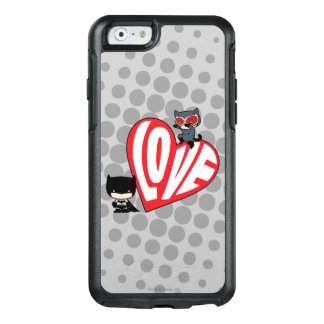 Chibi Catwoman Pounce on Batman OtterBox iPhone 6/6s Case