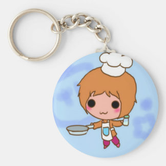 Chibi chef key ring