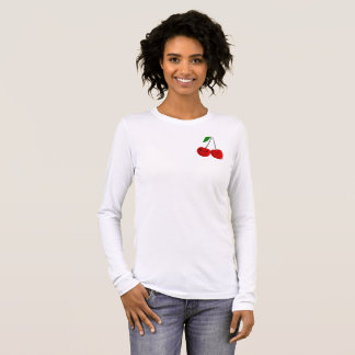 Chibi Cherry Long Sleeve T-Shirt