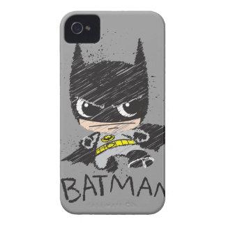 Chibi Classic Batman Sketch iPhone 4 Cover