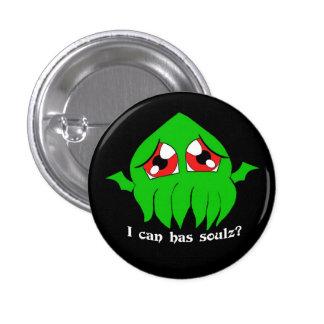 Chibi Cthulu lolthulu 3 Cm Round Badge