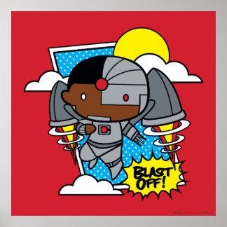Chibi Cyborg Blast Off! Poster