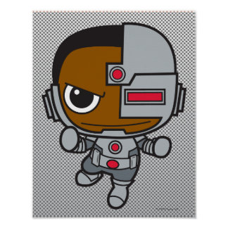 Chibi Cyborg Poster