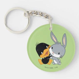 Chibi DAFFY DUCK™ & BUGS BUNNY™ Key Ring