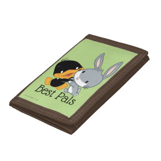 Chibi DAFFY DUCK™ & BUGS BUNNY™ Trifold Wallet