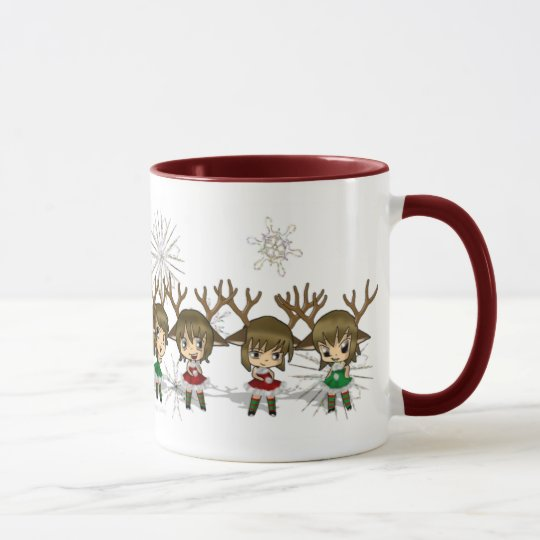 Chibi Deer All Mug