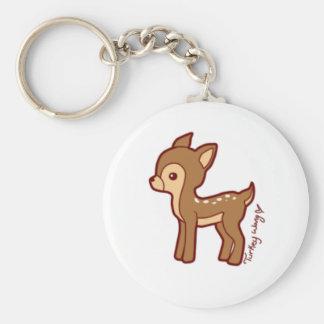 chibi deer key ring