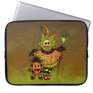 CHIBI DOLLS MONSTERS SLEEVE 15 INCHES LAPTOP SLEEVES