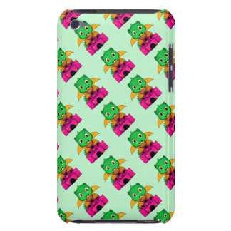 Chibi Dragon With An Orange And Pink Castle iPod Touch Case-Mate Case