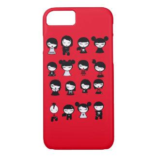 Chibi Emo Goth iPhone 7 iPhone 8/7 Case