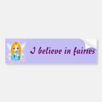 Chibi Faery Bumper Sticker