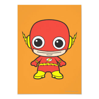 Chibi Flash 13 Cm X 18 Cm Invitation Card