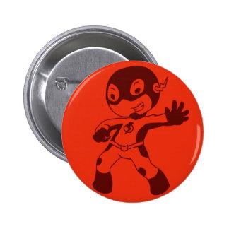 chibi Flash 6 Cm Round Badge