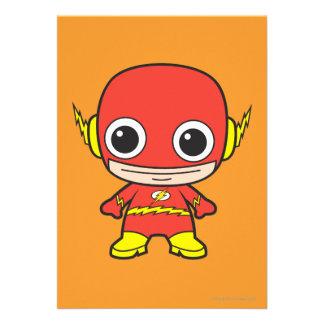 Chibi Flash Personalized Invites