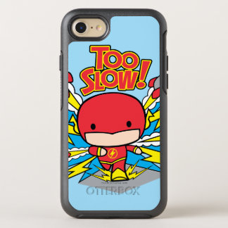 Chibi Flash Outrunning Rockets OtterBox Symmetry iPhone 7 Case