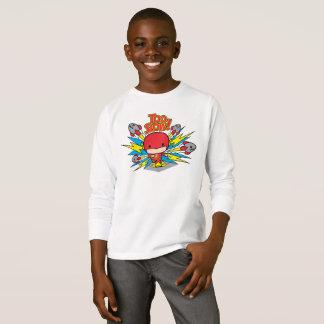 Chibi Flash Outrunning Rockets T-Shirt