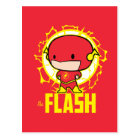 Chibi Flash With Electricity Postcard