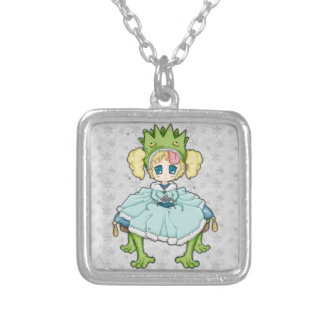 Chibi Frog Princess Custom Necklace