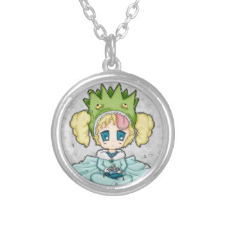 Chibi Frog Princess Custom Jewelry