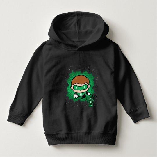 Chibi Green Lantern Flying Through Space Hoodie