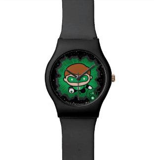 Chibi Green Lantern Flying Through Space Watch