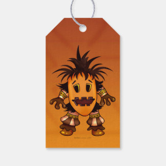 CHIBI  HALLOWEEN MONSTER  GIFT TAG