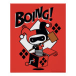 Chibi Harley-Quinn-In-A-Box With Hammer Poster