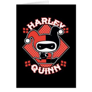 Chibi Harley Quinn Splits Card