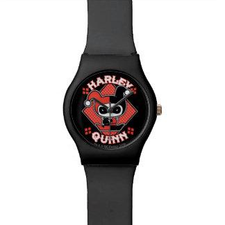 Chibi Harley Quinn Splits Wristwatch