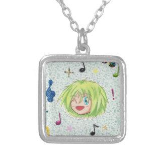 Chibi Head- Izumi Comic Humor Necklace