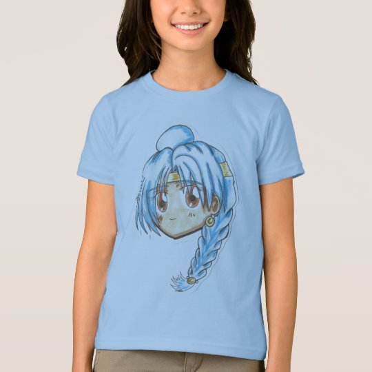 Chibi Head- Miko T-Shirt