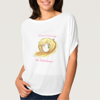 Chibi Head- Ran T-Shirt'Fabulous'Bella flowy Shirt