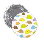 chibi hedgehog 3 cm round badge