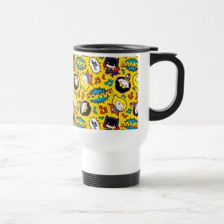Chibi Heroine Dance Pattern Travel Mug
