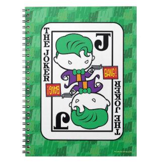 Chibi Joker Playing Card Notebook