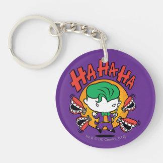 Chibi Joker With Toy Teeth Key Ring