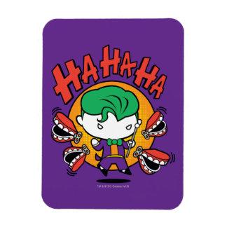 Chibi Joker With Toy Teeth Rectangular Photo Magnet