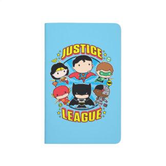 Chibi Justice League Group Journals