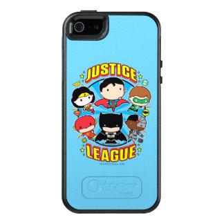 Chibi Justice League Group OtterBox iPhone 5/5s/SE Case